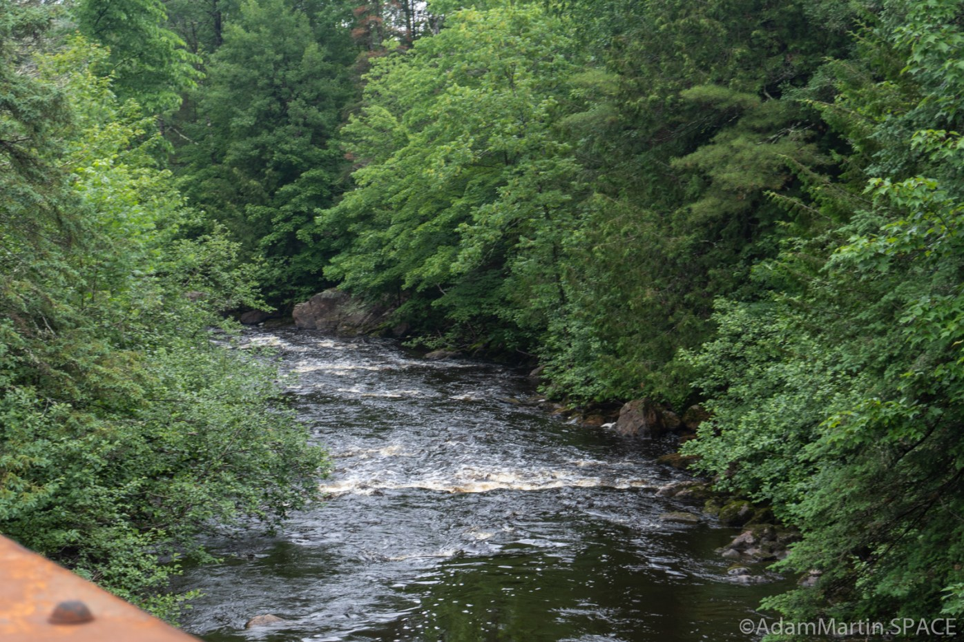 Rapids along the Bad River