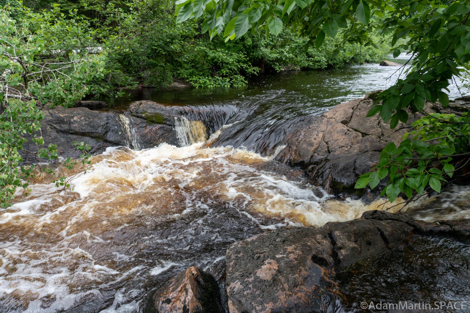Second Trestles Falls