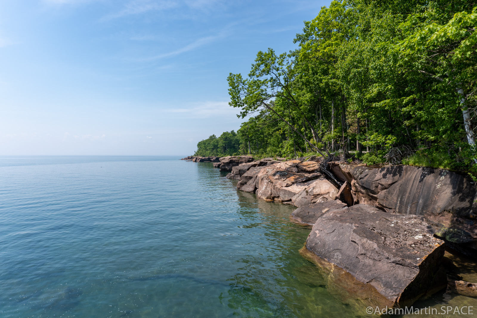 Big Bay State Park - Lake Superior Coastal Views