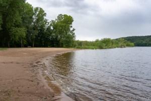 Kinnikinnic State Park – Beach on the St. Croix River