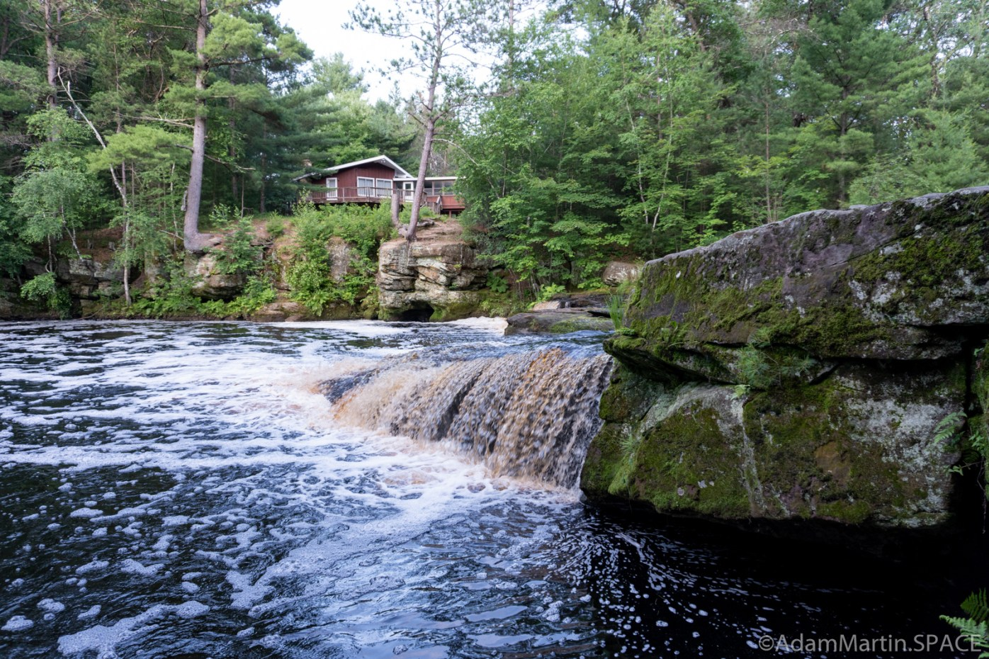Swimming Falls - View from beside the falls