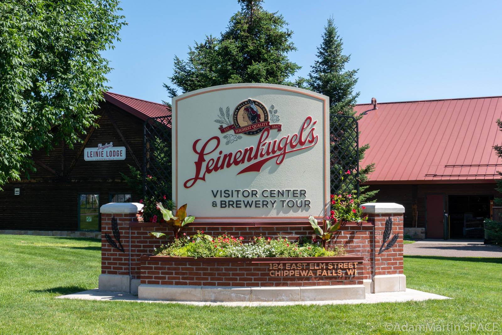 Leinenkugels Brewery & Leine Lodge