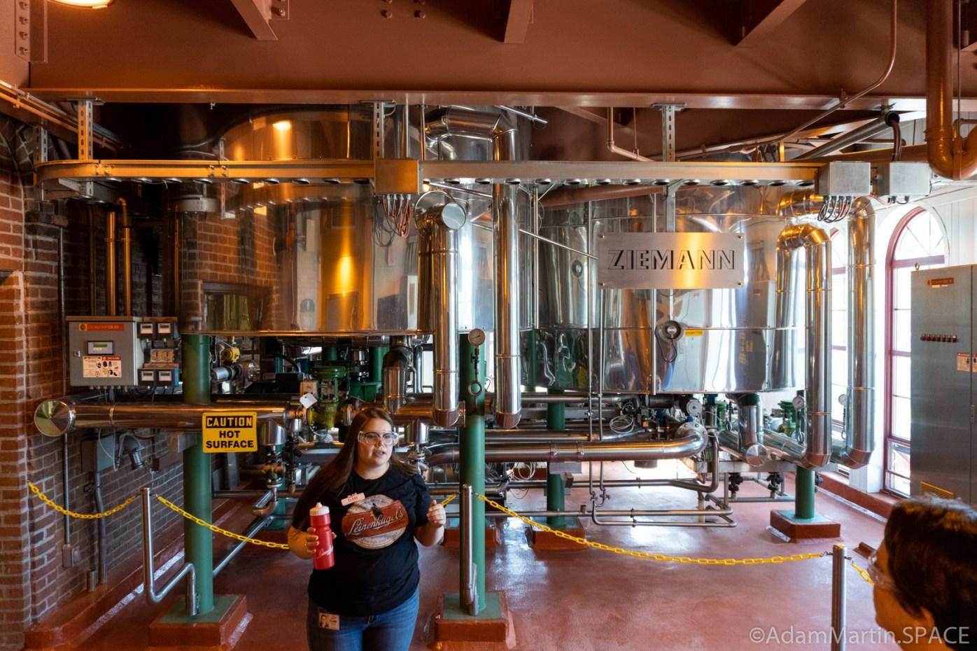 Leinenkugels Brewery - Lautering & Wort Tanks