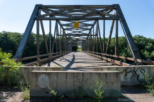 Old Abe Rapids - Abandoned bridge over the Chippewa River