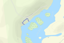 GaiaGPS hiking data @ Quiver Falls Rapids