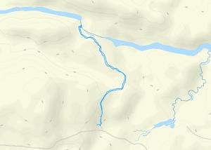 GaiaGPS hiking data @ LaSalle Falls