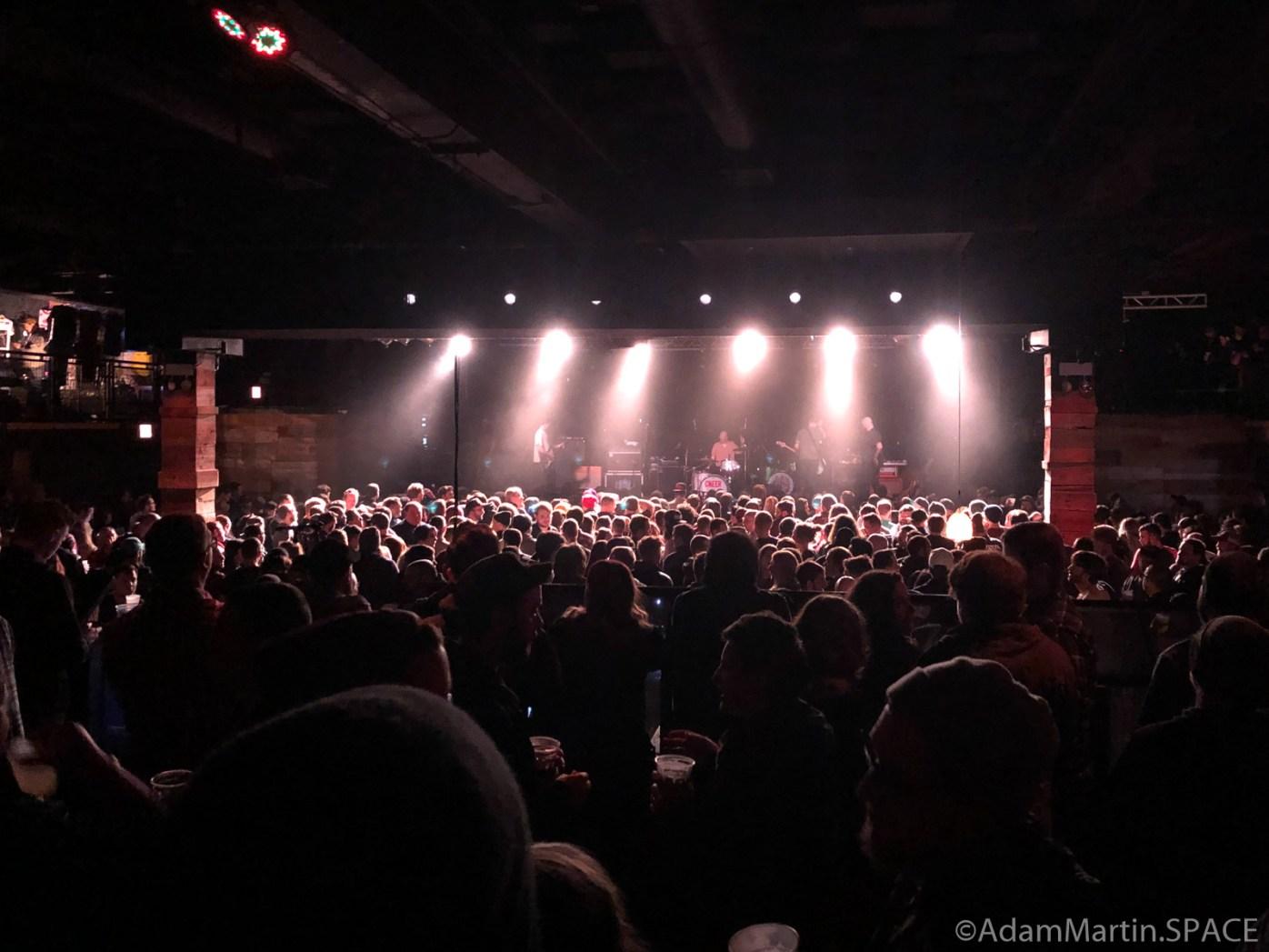 Concord Music Hall - Pre show sound checks