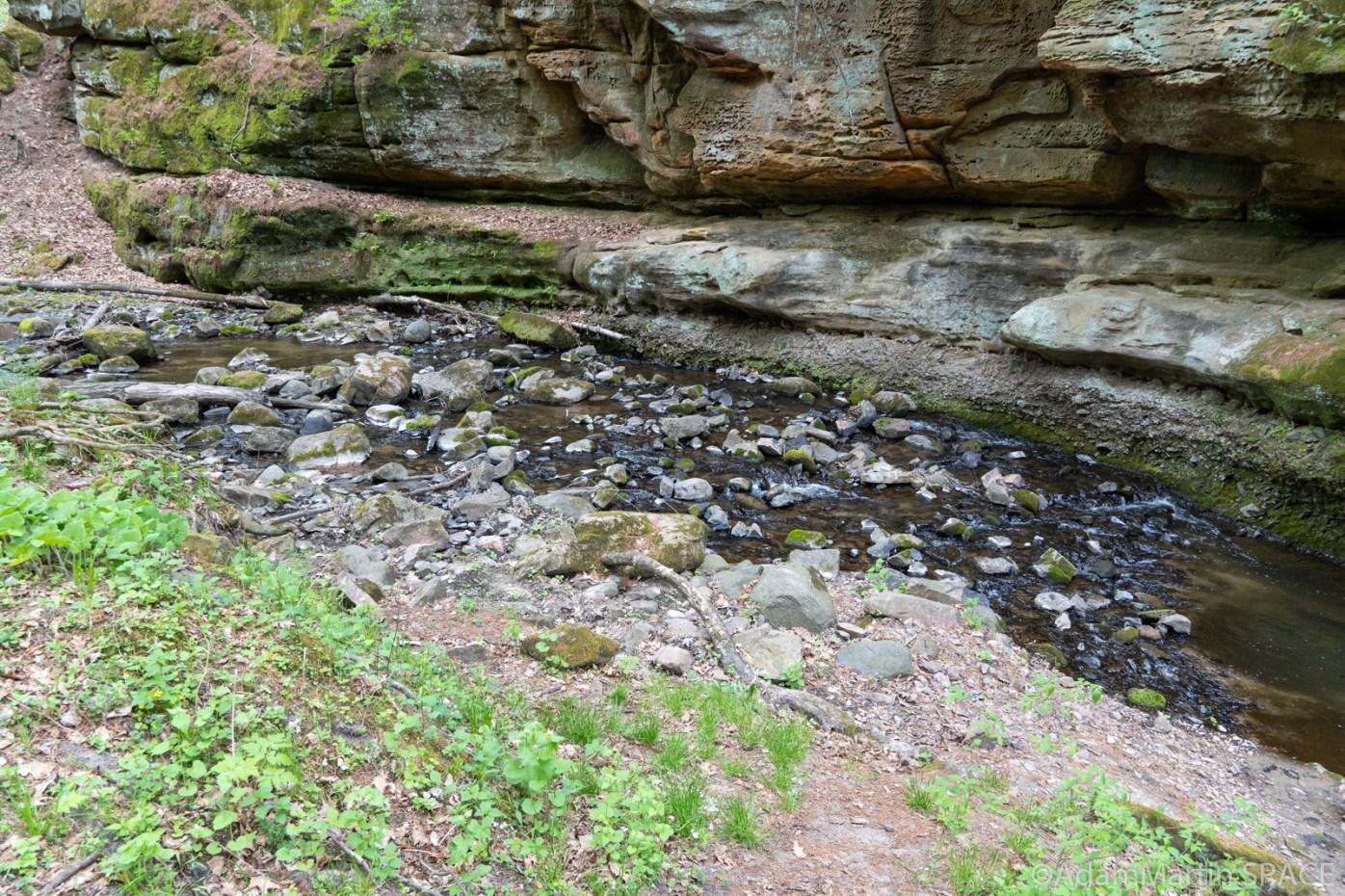 Durward's Glen - Small rocky rapids in the glen