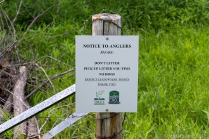 Eagle Eye State Natural Area - Signs near the access area