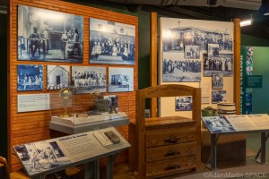 """Homestead National Historical Park - """"School's In Session"""" display"""