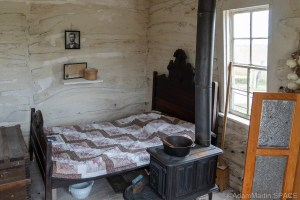 Homestead National Historical Park - George Palmer cabin interior