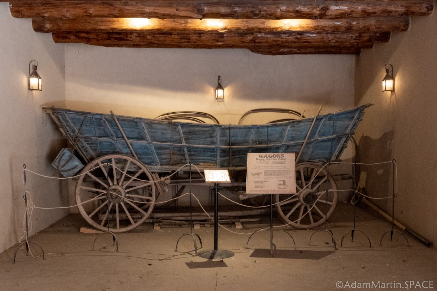 Bent's Old Fort National Historic Site - Conestoga Wagon