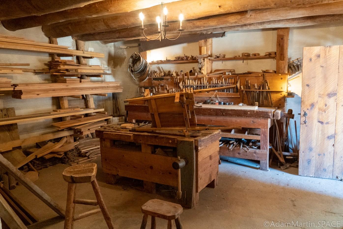 Bent's Old Fort National Historic Site - Carpentry Shop