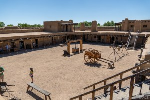 Bent's Old Fort National Historic Site - Overview of Interior Courtyard