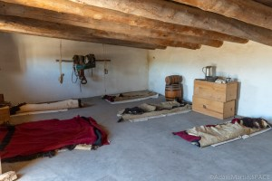 Bent's Old Fort National Historic Site - Sleeping Quarters