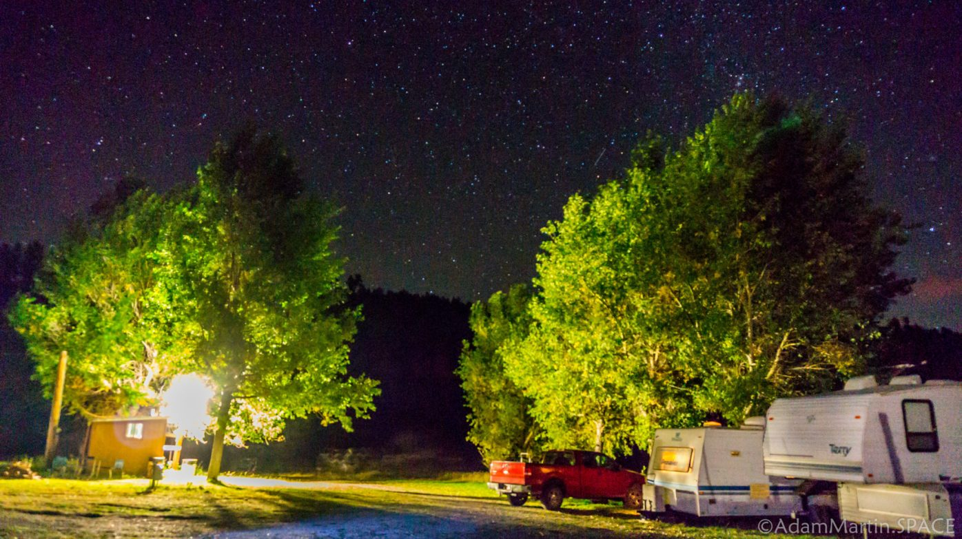 New Mexico Elk Hunt - Astrophotography From RV Park