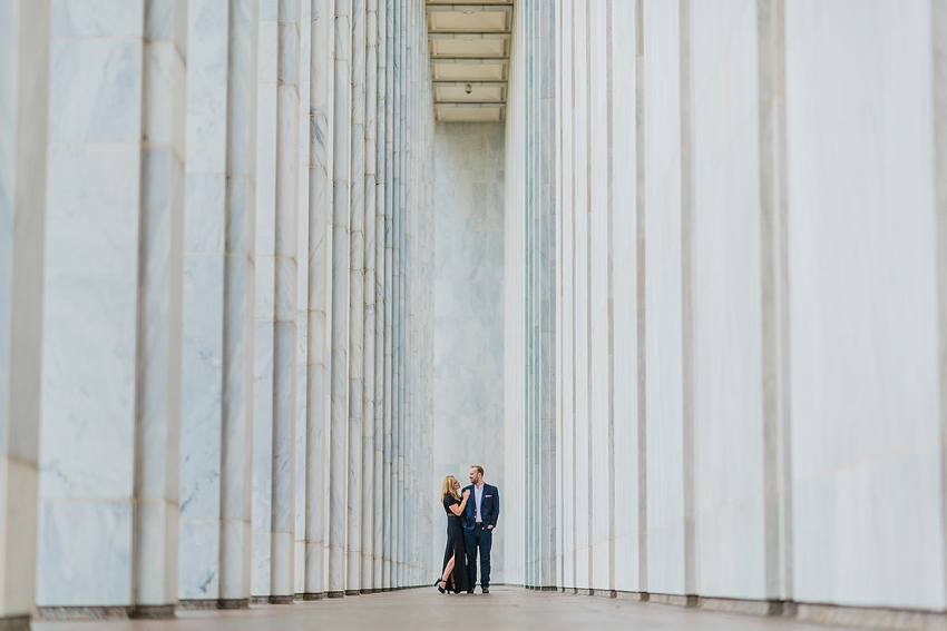 dc engagement session at the library of Congress by Washington DC Wedding Photographer Adam Mason