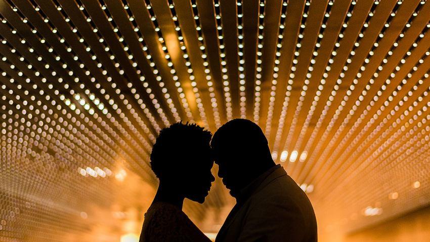 National Gallery of Art engagement photos by Washington DC Wedding Photographer Adam Mason