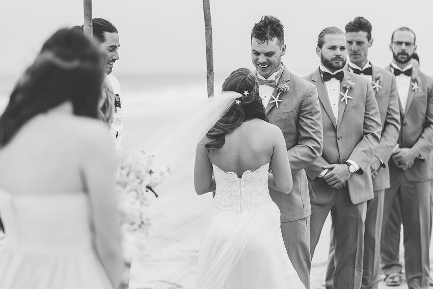 delaware beach wedding at indian river life saving station by Washington DC Wedding Photographer Adam Mason