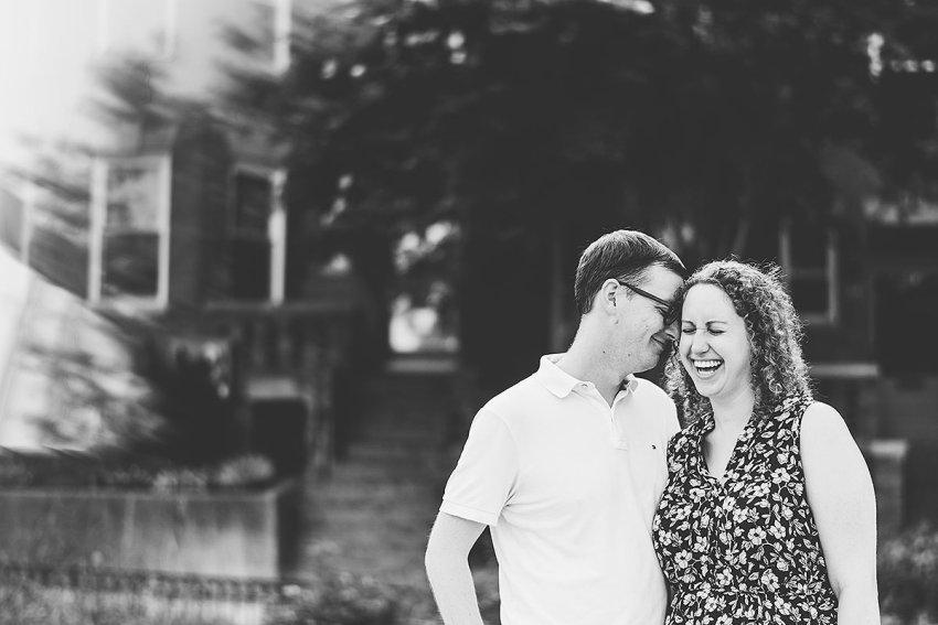 casual non-posed engagement photos in Washington DC by Washington DC Wedding Photographer Adam Mason