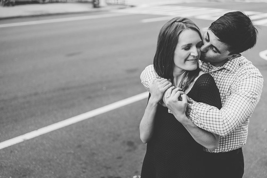 Upper West Side New York City Engagement session by Washington DC Wedding Photographer Adam Mason