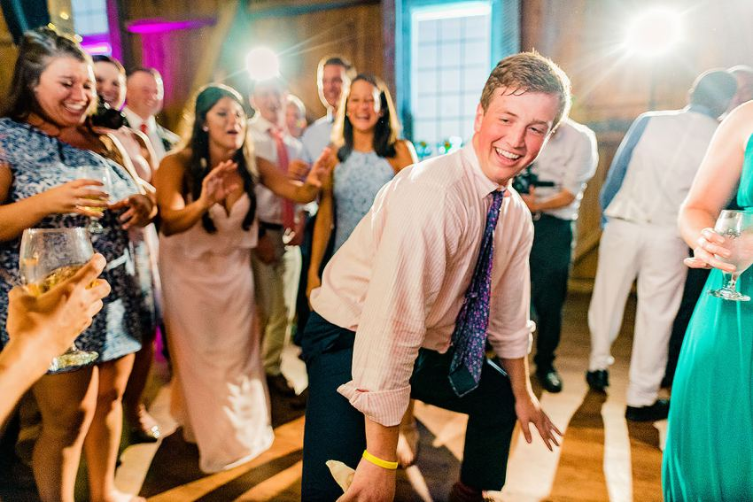 colorful reception wedding photos by Washington DC Wedding Photographer Adam Mason