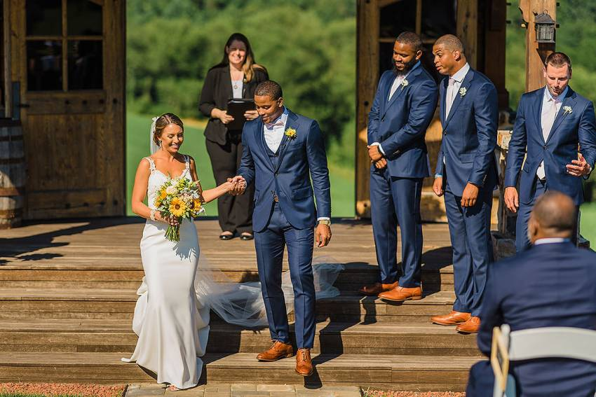 chicago bears Anthony Walters wedding by Washington DC Wedding Photographer Adam Mason