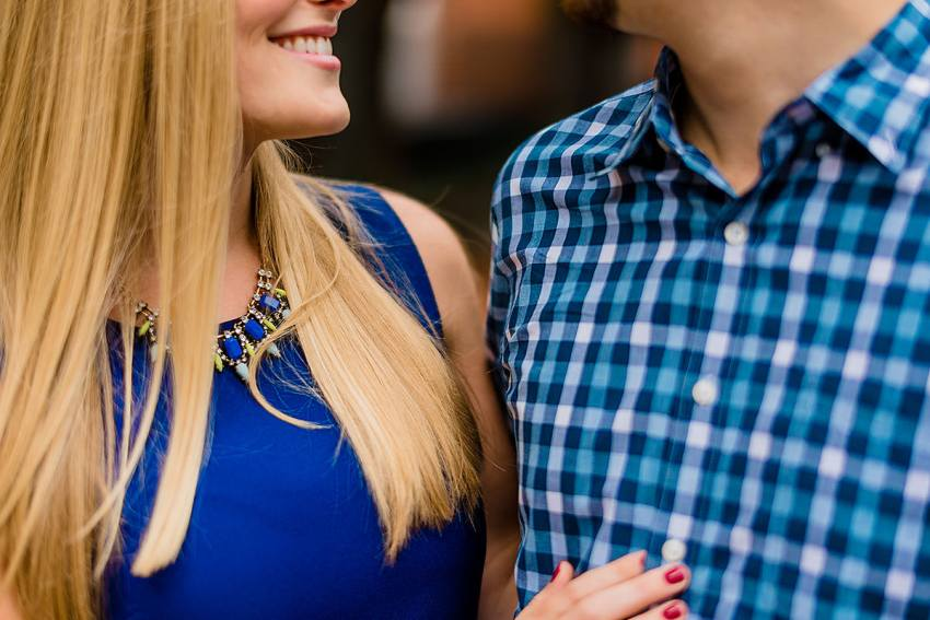 colorful and modern engagement photos at capitol riverfront engagement by Washington DC Wedding Photographer Adam Mason