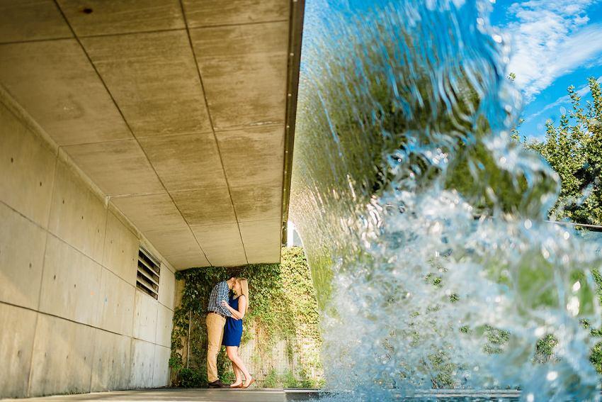 capitol riverfront engagement photos at yards park by Washington DC Wedding Photographer Adam Mason