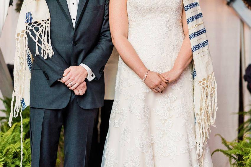 jewish ceremony at irvine nature center wedding by Washington DC Wedding Photographer Adam Mason