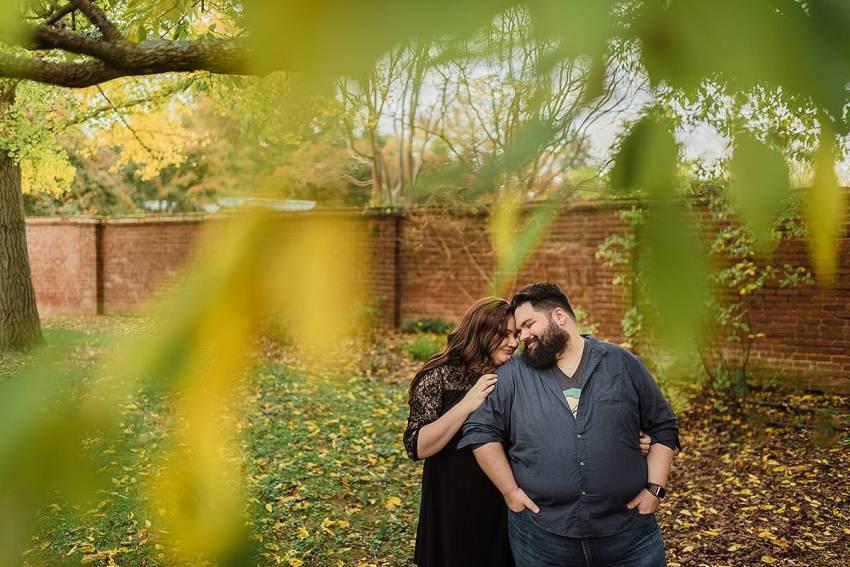 sweet and gentle couple portrait session at Washington DC Wedding Photographer Adam Mason