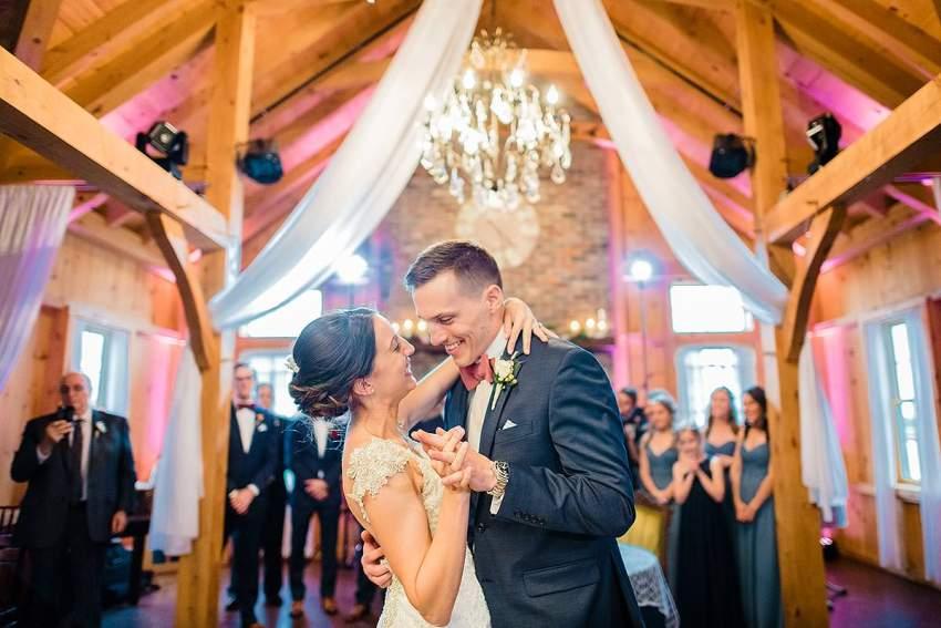 bride and groom dancing at thousand acre farm wedding by Washington DC Wedding Photographer Adam Mason
