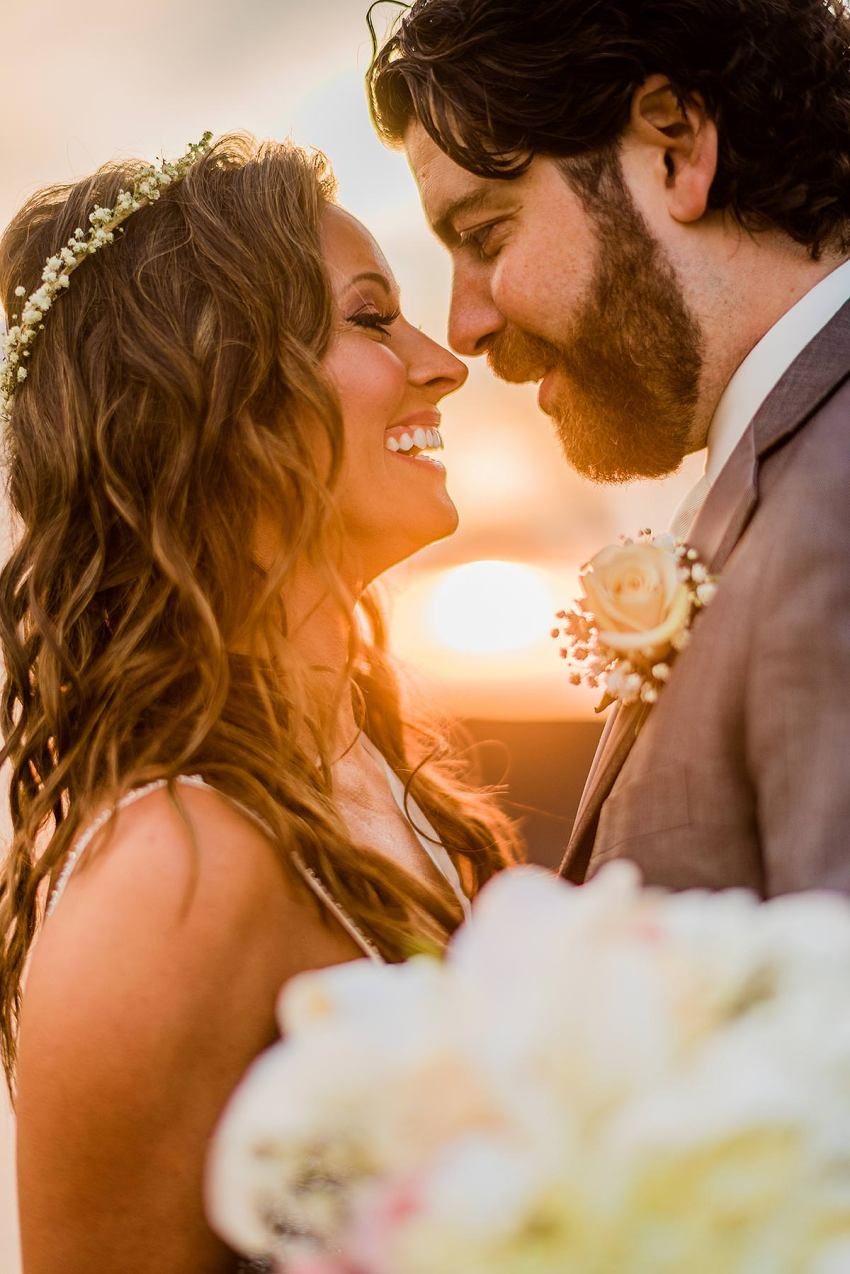 sunset wyndridge farm wedding by Washington DC Wedding Photographer Adam Mason