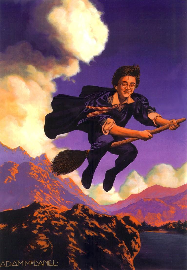 Adam McDaniel  Art Technique Harry Potter Parrish