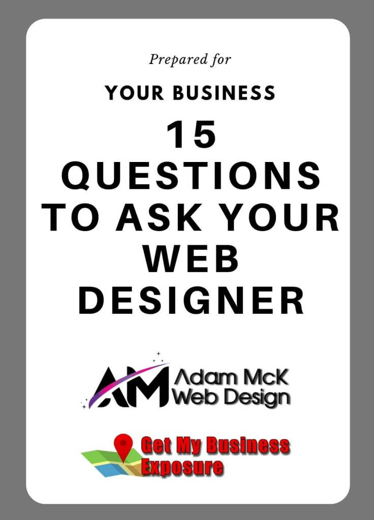 15 Questions To Ask Your Web Designer