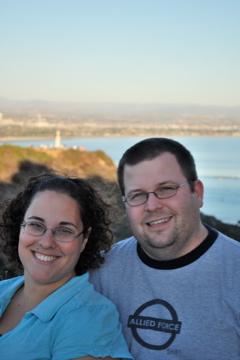 Kristen and Adam at Cabrillo