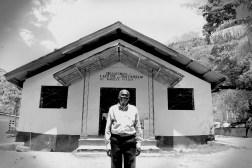 A pastor in the hills above Jacmel