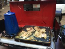 """OK, so it's not """"my stove"""" but I do a lot of the cooking while we camp... I LOVE IT. I also have a slight addiction to boiling water."""