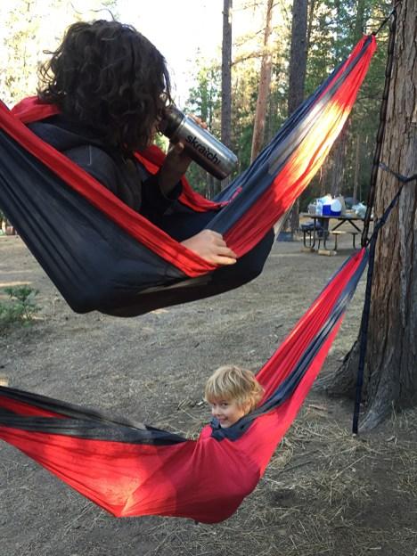 The double decker hammocks!
