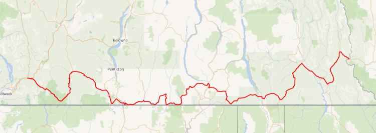 Highway 3 BC