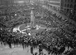 Rememberance Day Ceremony at the Cenotaph