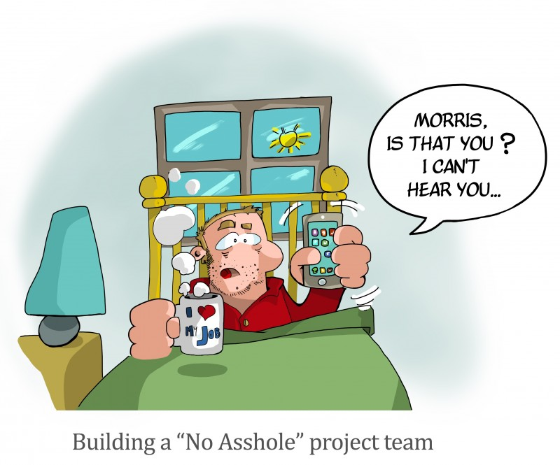 No Asshole project team