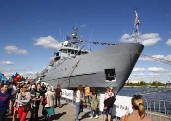 Szczecin: Fajerwerki na Dni Morza 2014