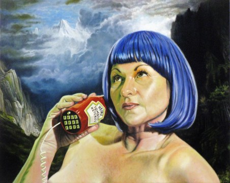 Oil on canvaUntitled 017 (Heinz Phone)s