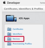 Apple Developer Member Center