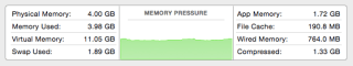 Memory Pressure in Yosemite DP6