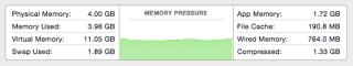 Memory Pressure in Yosemite DP6
