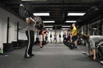 A General Idea of what a crossfit class might look like