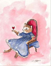 P_Kitty Cat Cocktail_watercolors_6-22-20121