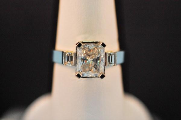 A platinum ring 69